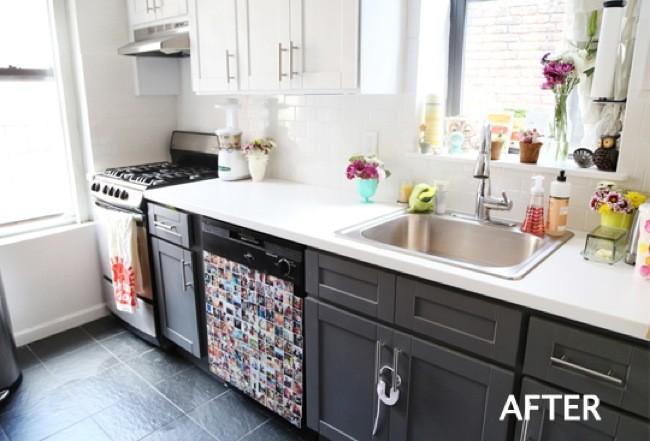 Antes y después: eligiendo colores para renovar los muebles ...